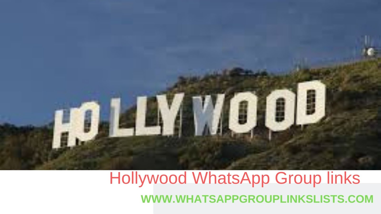 Join Hollywood WhatsApp Group Links List