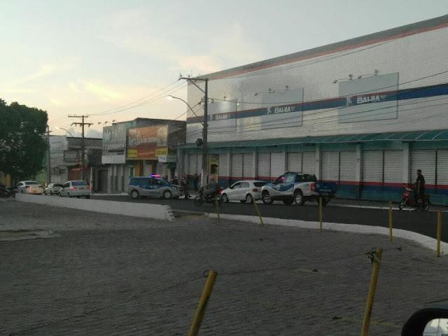 ALAGOINHAS: Casas Bahia é arrombada durante a madrugada
