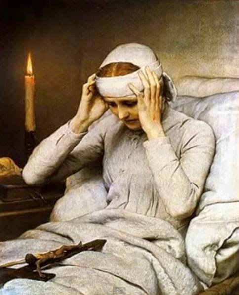 FEBRUARY 9 --- Augustinian nun - Blessed ANNA KATHARINA EMMERICK (1774-1824)