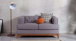 model sofa minimalis simpel ruang tamu