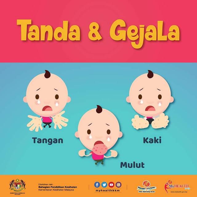 Tanda & gejala HFMD