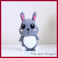 Mini conejito amigurumi