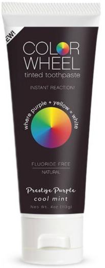 Beauty Blog By Angela Woodward Review Color Wheel Tinted Toothpaste