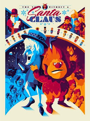 The Year Without A Santa Claus Standard Edition Screen Print by Tom Whalen