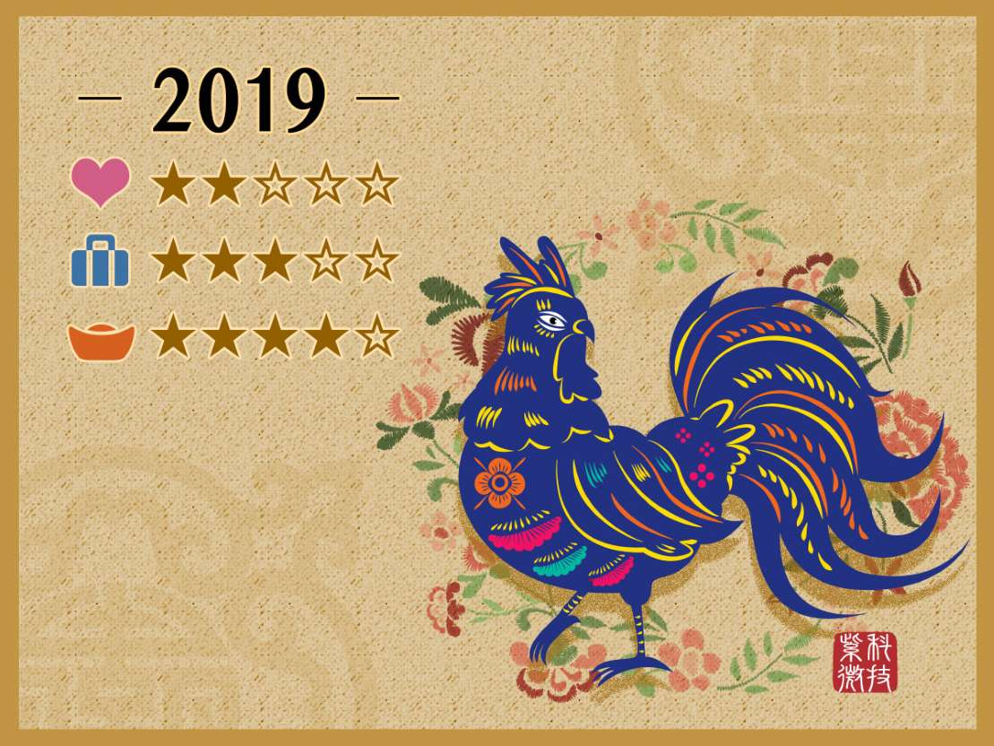 Chinese New Year 2019, Year of the Rooster