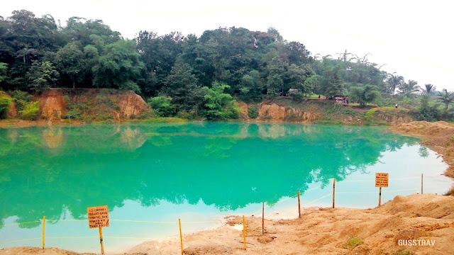 danau cigaru - Danau Biru di Tanggerang