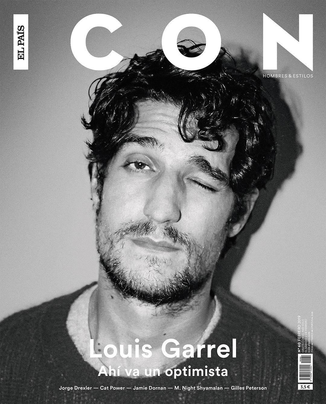 Louis Garrel para ICON El País Magazine por Antonio Macarro