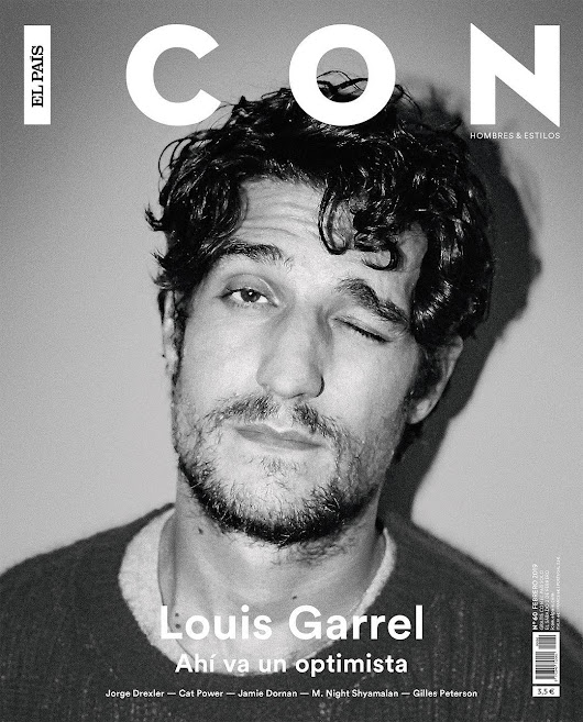 Male Fashion Trends: Louis Garrel para ICON El País Magazine por Antonio Macarro