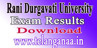 Rani Durgavati University M.C.A. VI Sem 2016 Exam Results Download