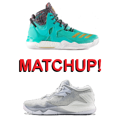 big sale c6484 21393 DRose 7 versus Crazylight Boost 2016  One-on-One Matchup