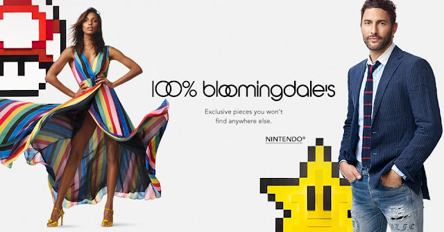 Bloomingdales Nintendo Fashion