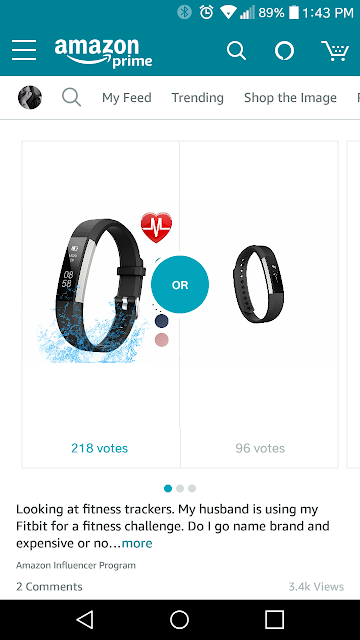 Inspired by Instagram: LETSCOM Fitness Tracker Amazon Spark poll