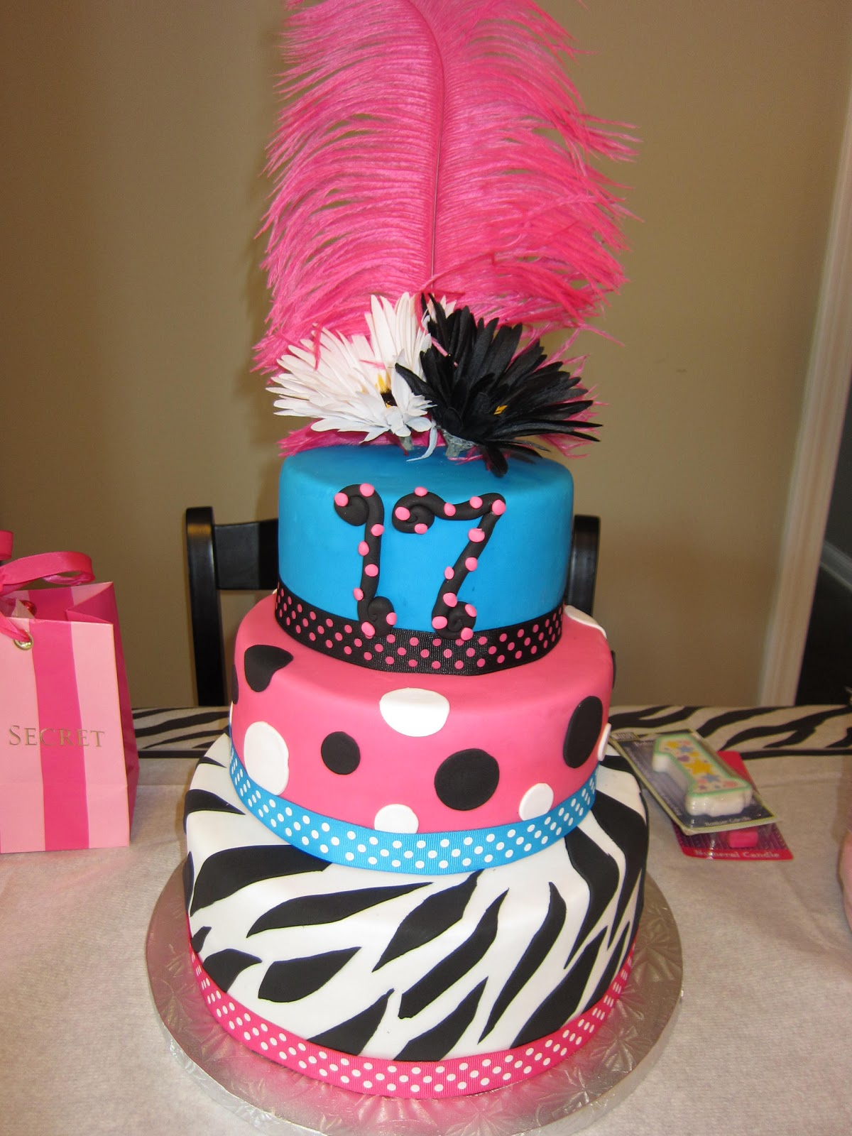 Sabtabulous Cakes 17th Birthday Cake