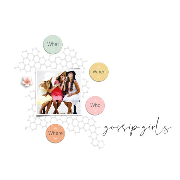 gossip girls © sylvia • sro 2019 • always there by dandelion dust designs