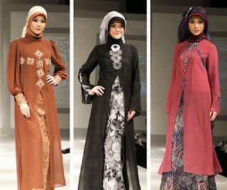 model baju sifon muslim