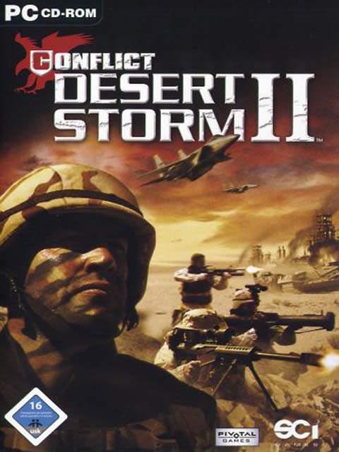 تحميل لعبة Conflict Desert Storm 2 مضغوطة برابط واحد مباشر كاملة مجانا
