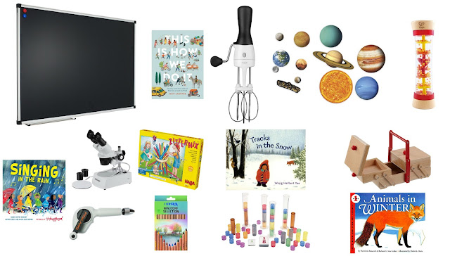 Montessori friendly favorites from the 2017 holiday season
