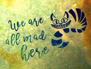 Lettering - Alice in Wonderland
