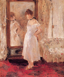 Берта Моризо Berthe Morisot Зеркало