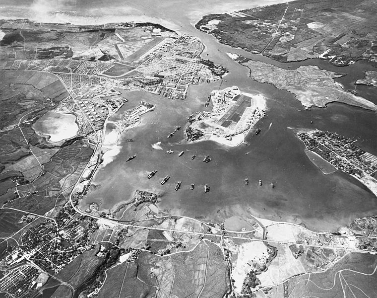 Pearl Harbor before the attack