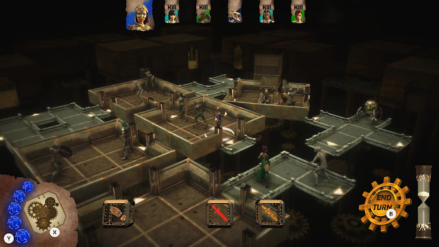 Screenshot of The Living Dungeon