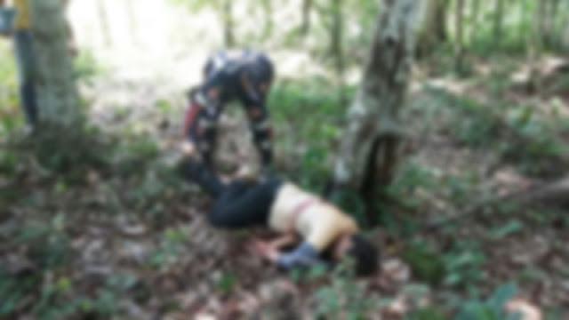 Em Ariquemes homem é executado de maneira brutal dentro da mata