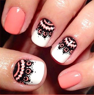Decoración de uñas con MÁNDALAS originales que están de MODA