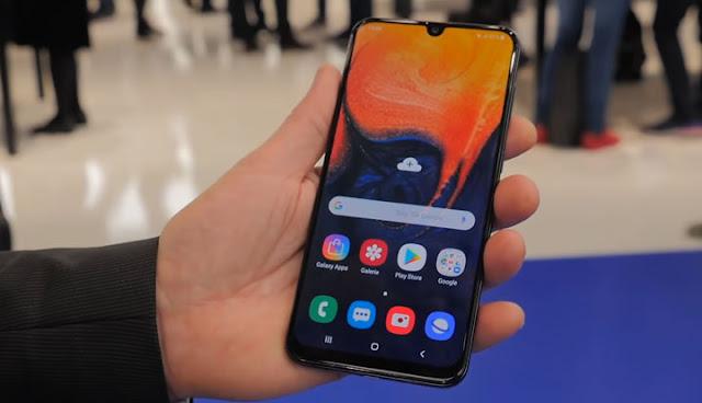سعر و مواصفات ساموسنج جالكسي اي 50 - Samsung Galaxy A50 Review Specs