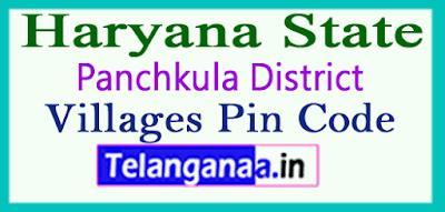Panchkula District Pin Codes in Haryana State