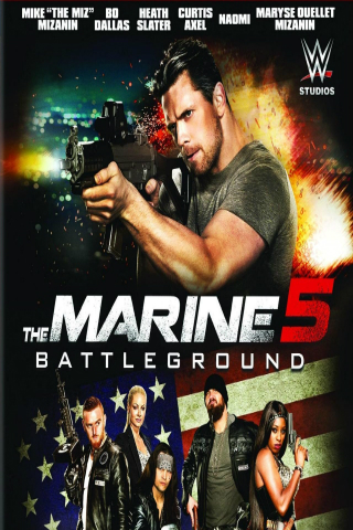 The Marine 5: Battleground [2017] [DVDR] [NTSC] [Latino]