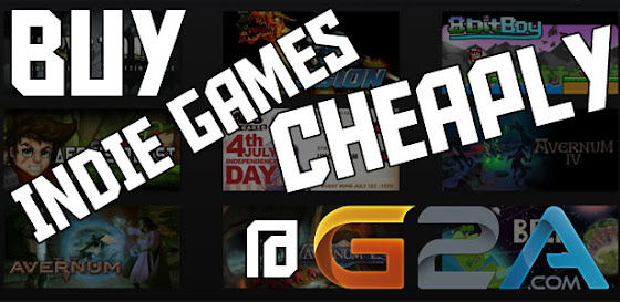Buy Indie Games Cheaply @ G2A