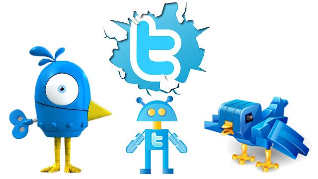 Twitter  usuarios no son reales