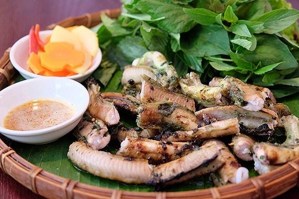 Du lịch Quy Nhơn ăn gì Cá ninja nướng muối ớt