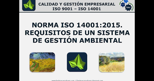 Requisitos de nueva norma ISO 14001:2015. Vídeo