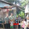 Camat Marbo Dan Kasat Binmas Didampingi Plt  Desa Bontoparang Kunjungi Rumah Tak Layak Huni