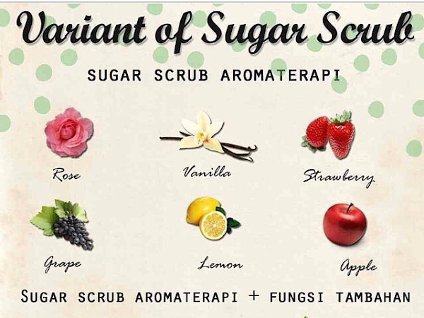 [Review] Homemade Sugar Scrub Aromatherapy from Pretty Recipe