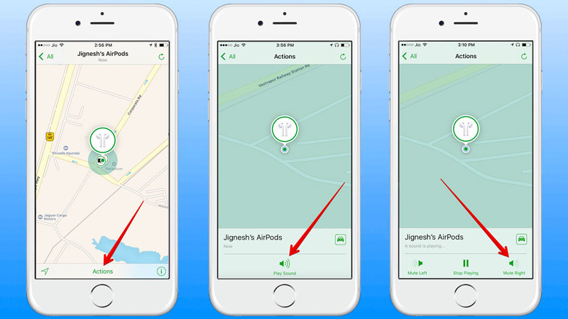 how to use find my iphone feature