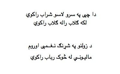 The Best Poetry Site: Nice Pashto Poem