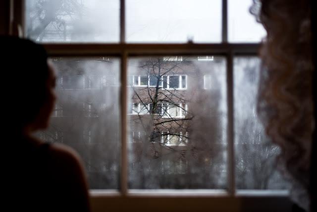 Fotografiando bajo la lluvia, las ventanas