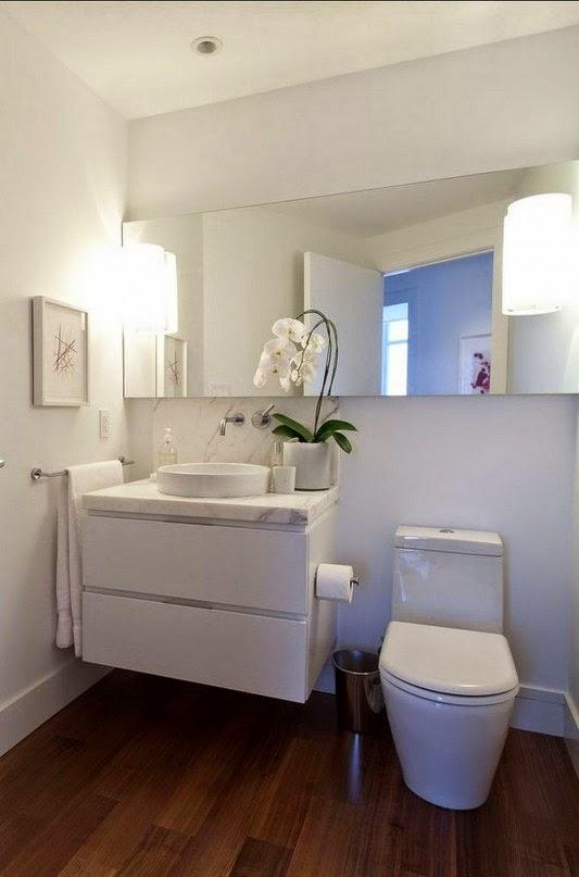 móveis para cozinha Casa contemporânea com design feminino