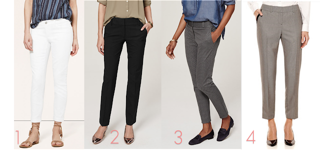 Back to School Teacher First Day Outfit Ankle Pants work pants