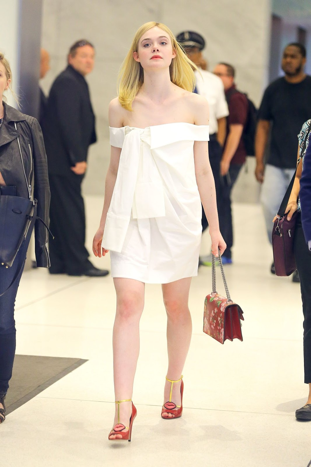 HQ Photos of Elle Fanning At The Neon Demon Premiere In New York