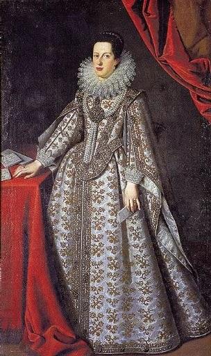 Caterina di Fernandino de Medici-Gonzaga, Lucrina Fetti