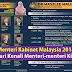 Menteri Kabinet Malaysia !!Mari Kenali Menteri-menteri Kita
