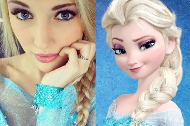 Top 10 Surprising REASONS FOR HAVING 'Frozen' Elsa Look-Alike