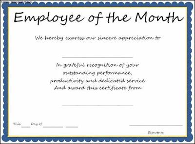 Best Employee Award Certificate Templates Fgatu
