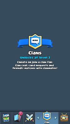 Cara Membuat Clan Pada Clash Royale