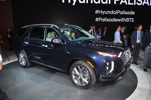2020 Hyundai Palisade officially unveiled