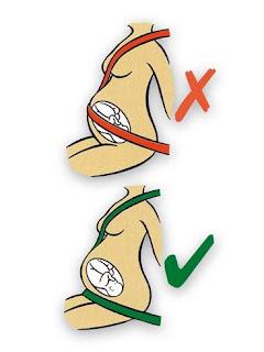 Conducción-embarazo-seguridad-seguros-Penélope seguros-cinturones