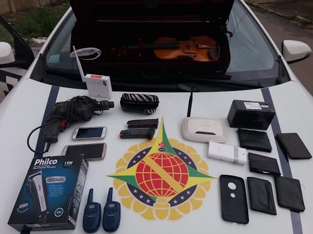 Ladrão é preso em Ceilândia após anunciar itens roubados na OLX